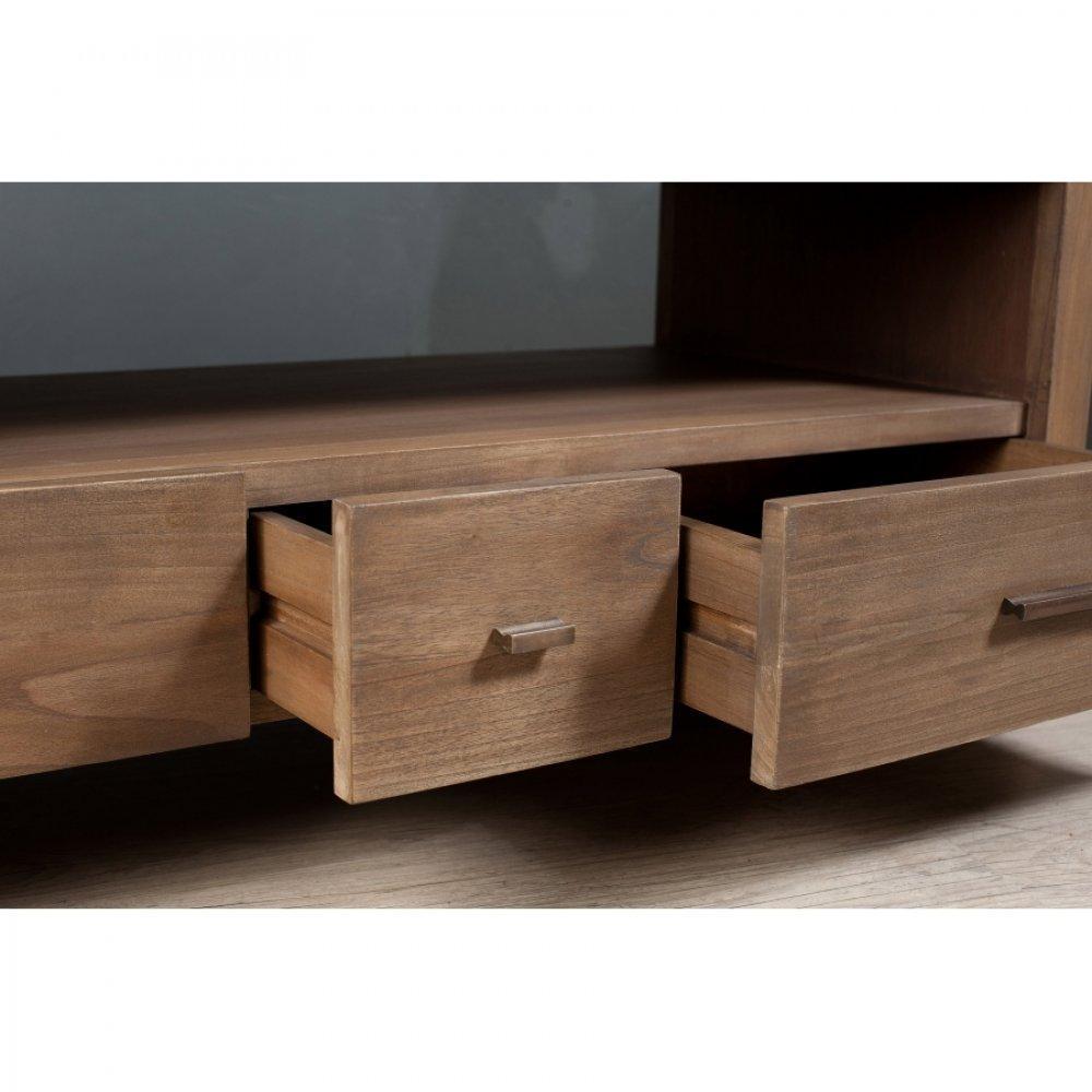 Meubles tv meubles et rangements meuble tv laura en midi style colonial i - Meubles style colonial ...