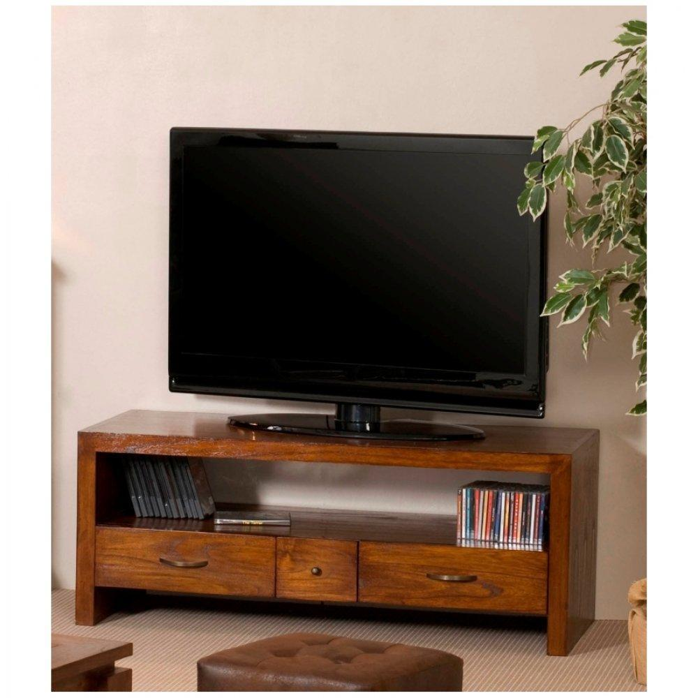 meubles tv meubles et rangements meuble tv lauren lorine en midi style colonial inside75. Black Bedroom Furniture Sets. Home Design Ideas