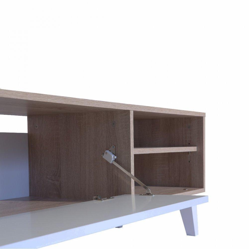 Meubles Tv Meubles Et Rangements Meuble Tv Square Design  # Abattant Meuble Tv