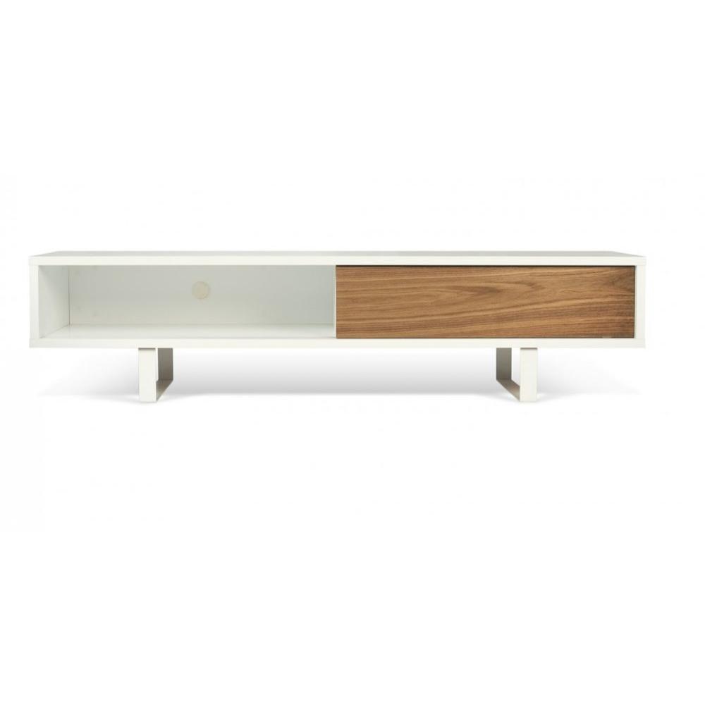 Meubles tv meubles et rangements slide meuble tv design for Meuble tv banc bois
