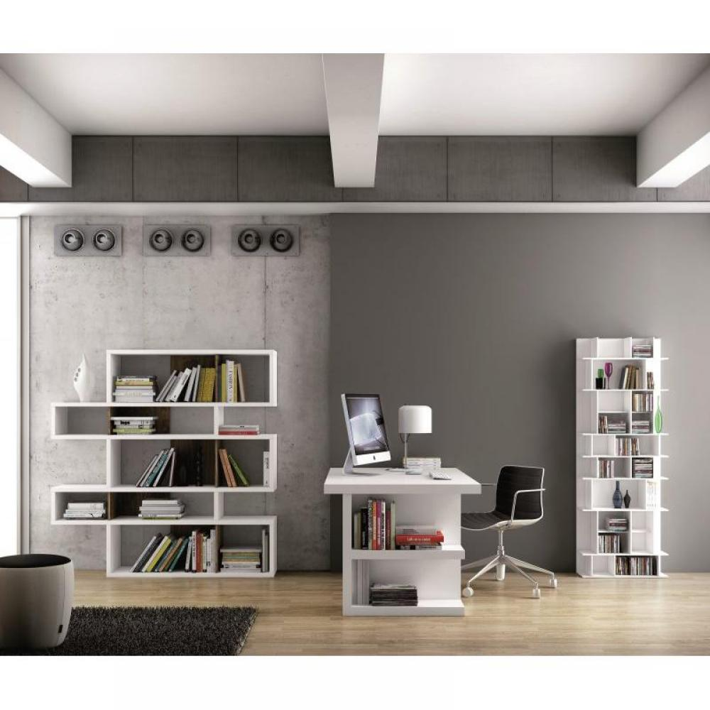 bureaux meubles et rangements bureau design temahome multi storage 160 x 90 blanc inside75. Black Bedroom Furniture Sets. Home Design Ideas
