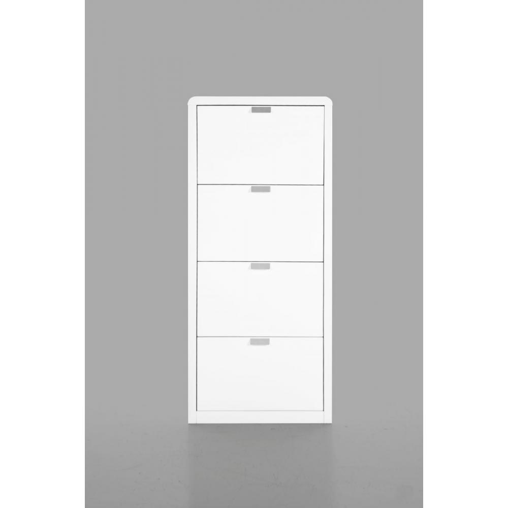 canap s convertibles ouverture rapido milki meuble chaussures laqu blanc design inside75. Black Bedroom Furniture Sets. Home Design Ideas