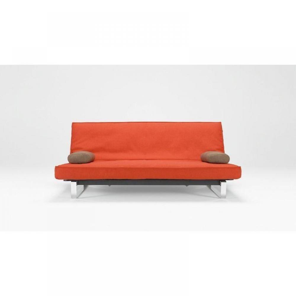 canap s convertibles ouverture rapido canape lit design minimum rouge orang innovation clic. Black Bedroom Furniture Sets. Home Design Ideas