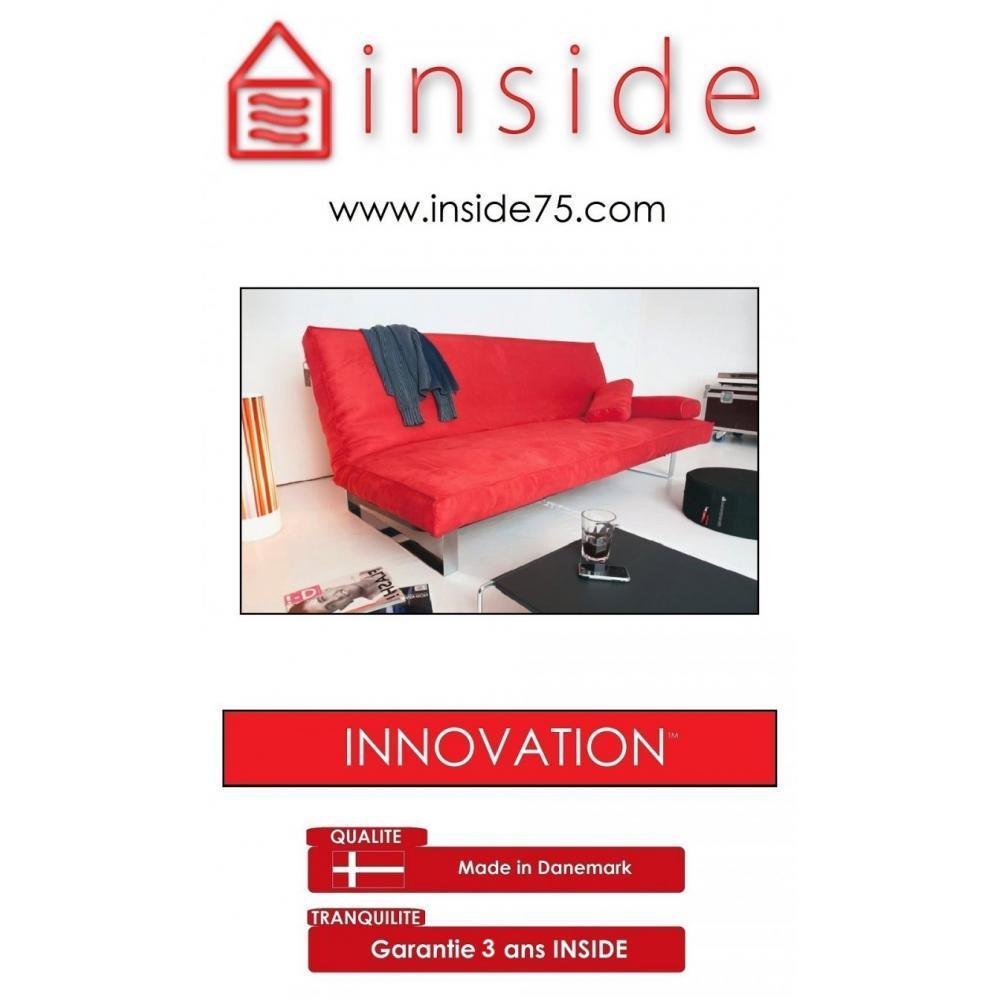 canap s lits clic clac convertibles innovation canape lit design minimum rouge convertible. Black Bedroom Furniture Sets. Home Design Ideas