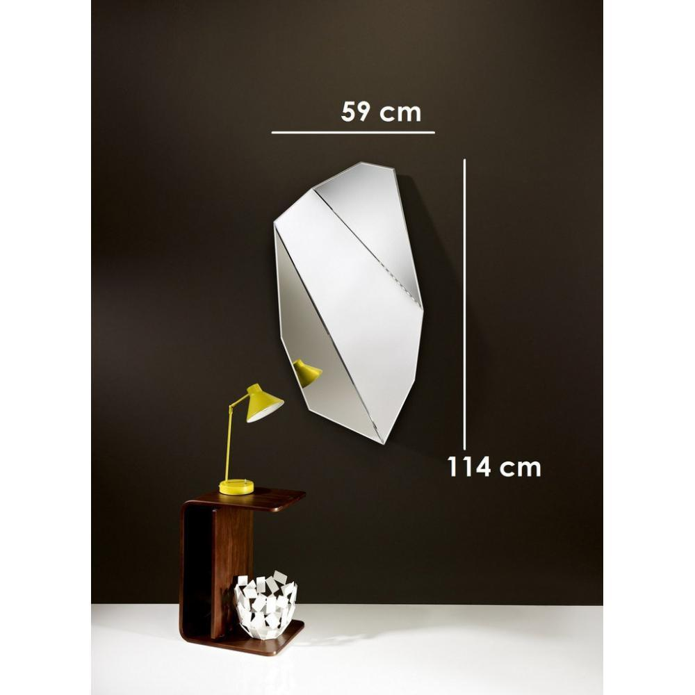 grands miroirs meubles et rangements mirah miroir mural design en verre petit mod le inside75. Black Bedroom Furniture Sets. Home Design Ideas