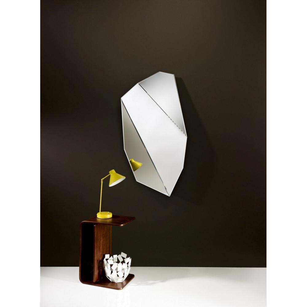 miroirs meubles et rangements mirah miroir mural design en verre petit mod le inside75. Black Bedroom Furniture Sets. Home Design Ideas