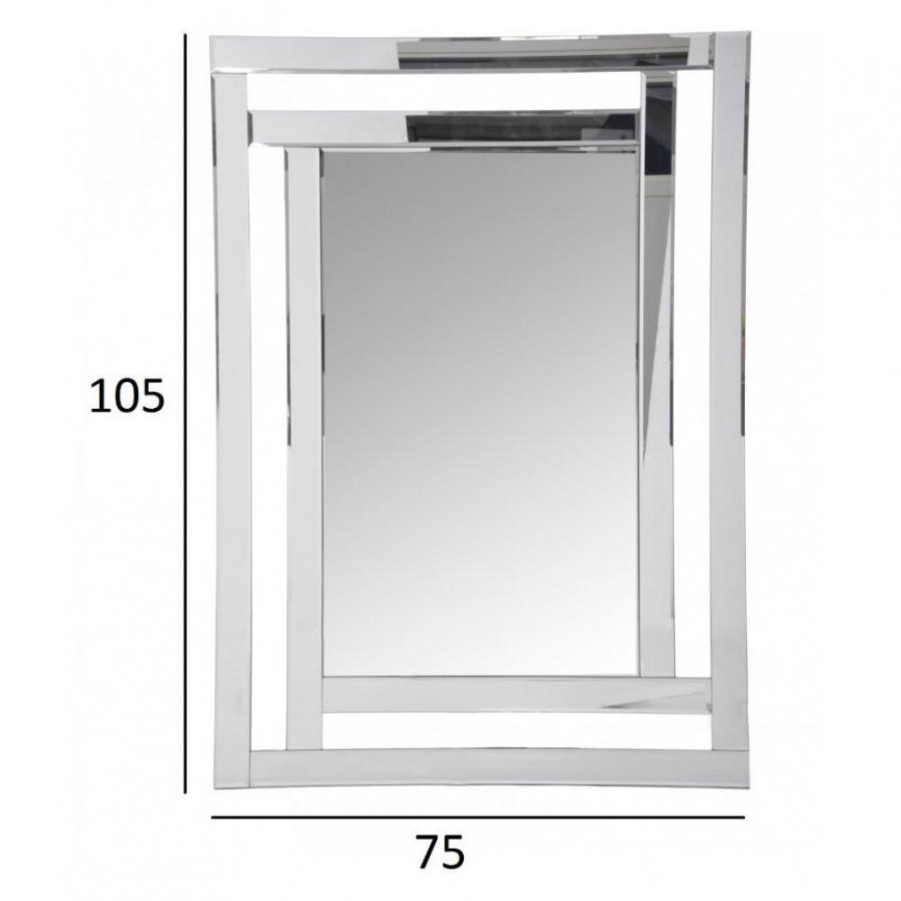 miroirs meubles et rangements miroir fen tre everest en verre inside75. Black Bedroom Furniture Sets. Home Design Ideas