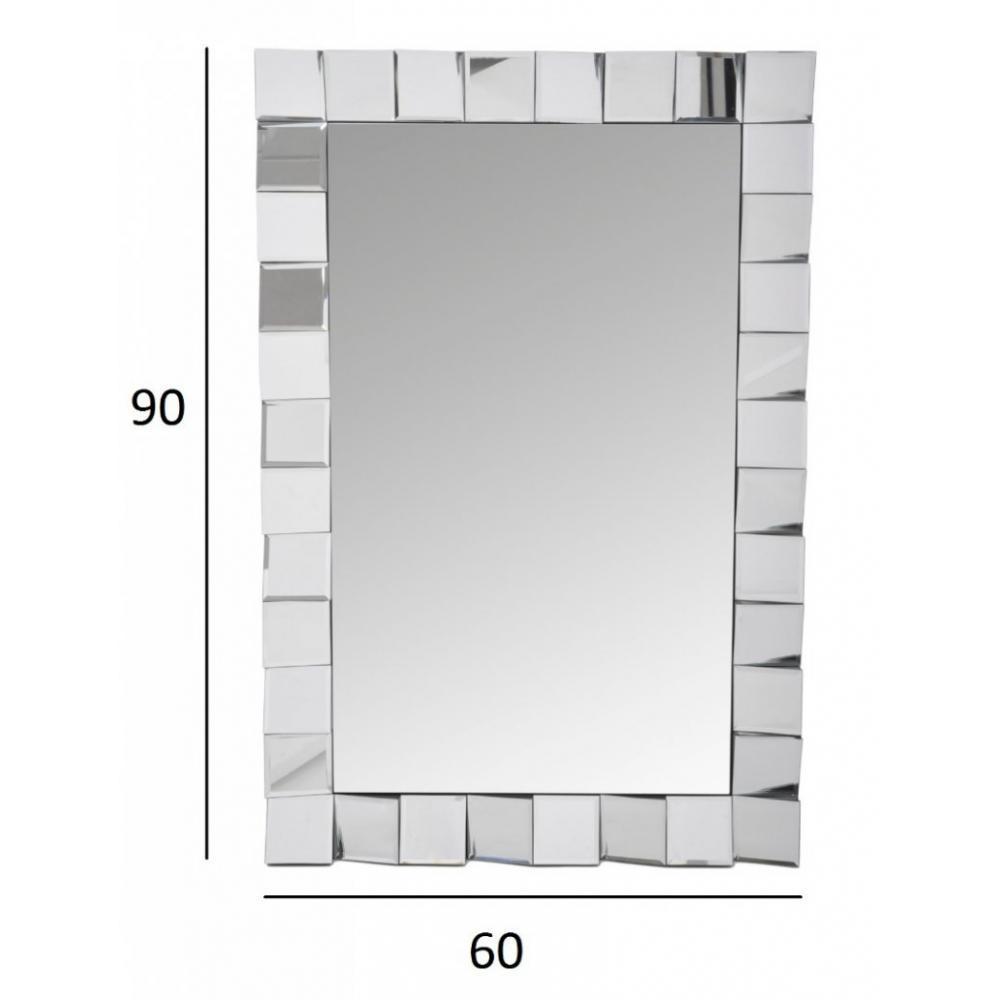 Miroirs meubles et rangements miroir mosaique ernest for Miroir mosaique design