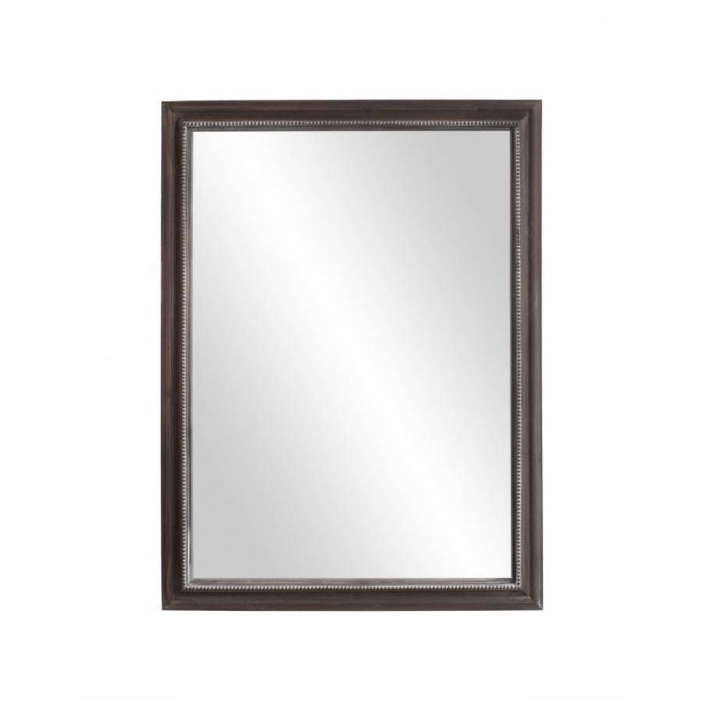 miroirs meubles et rangements miroir rectangulaire cassie 60 x 80 cm en bois de paulownia. Black Bedroom Furniture Sets. Home Design Ideas