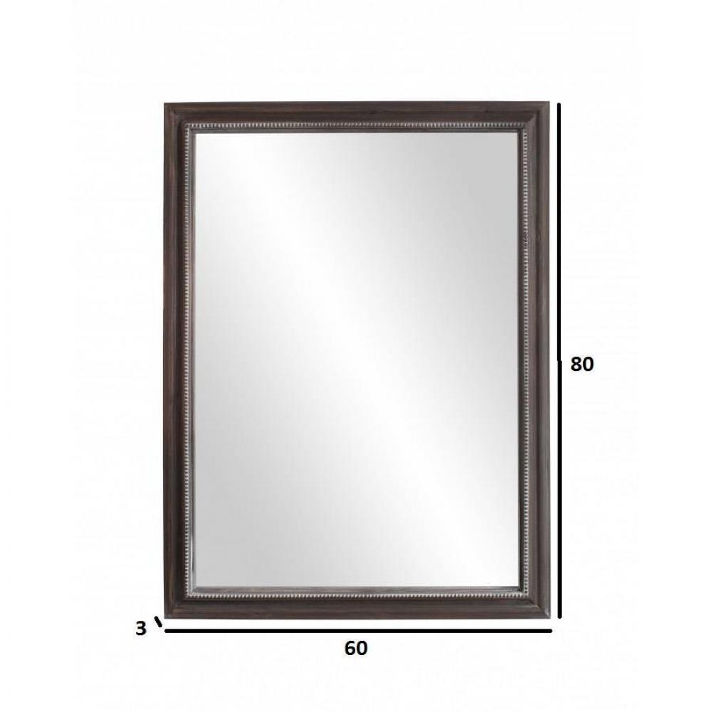 Miroirs meubles et rangements miroir rectangulaire for Miroir en bois rectangulaire
