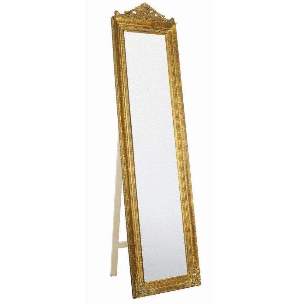 Miroirs sur pied meubles et rangements miroir psych for Miroir baroque design