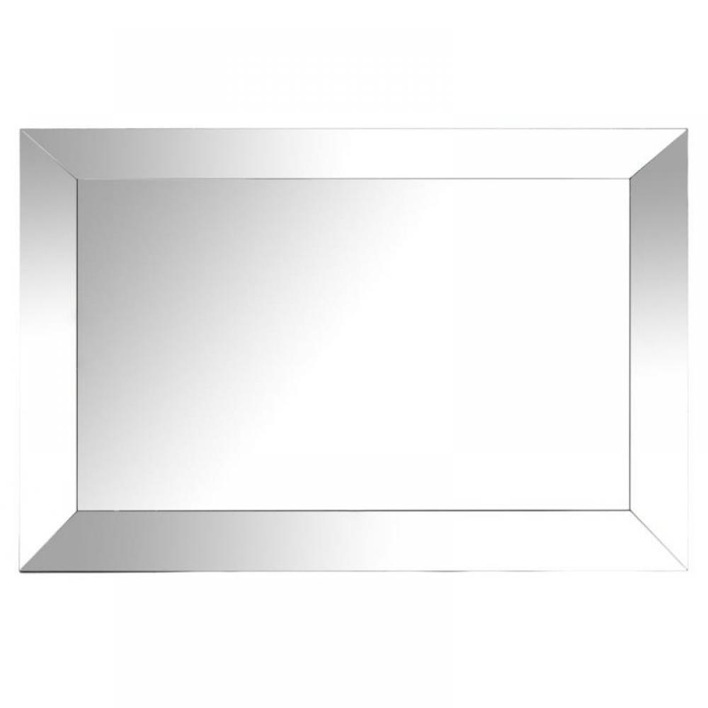 Miroirs meubles et rangements miroir rectangulaire en for Miroir rectangulaire