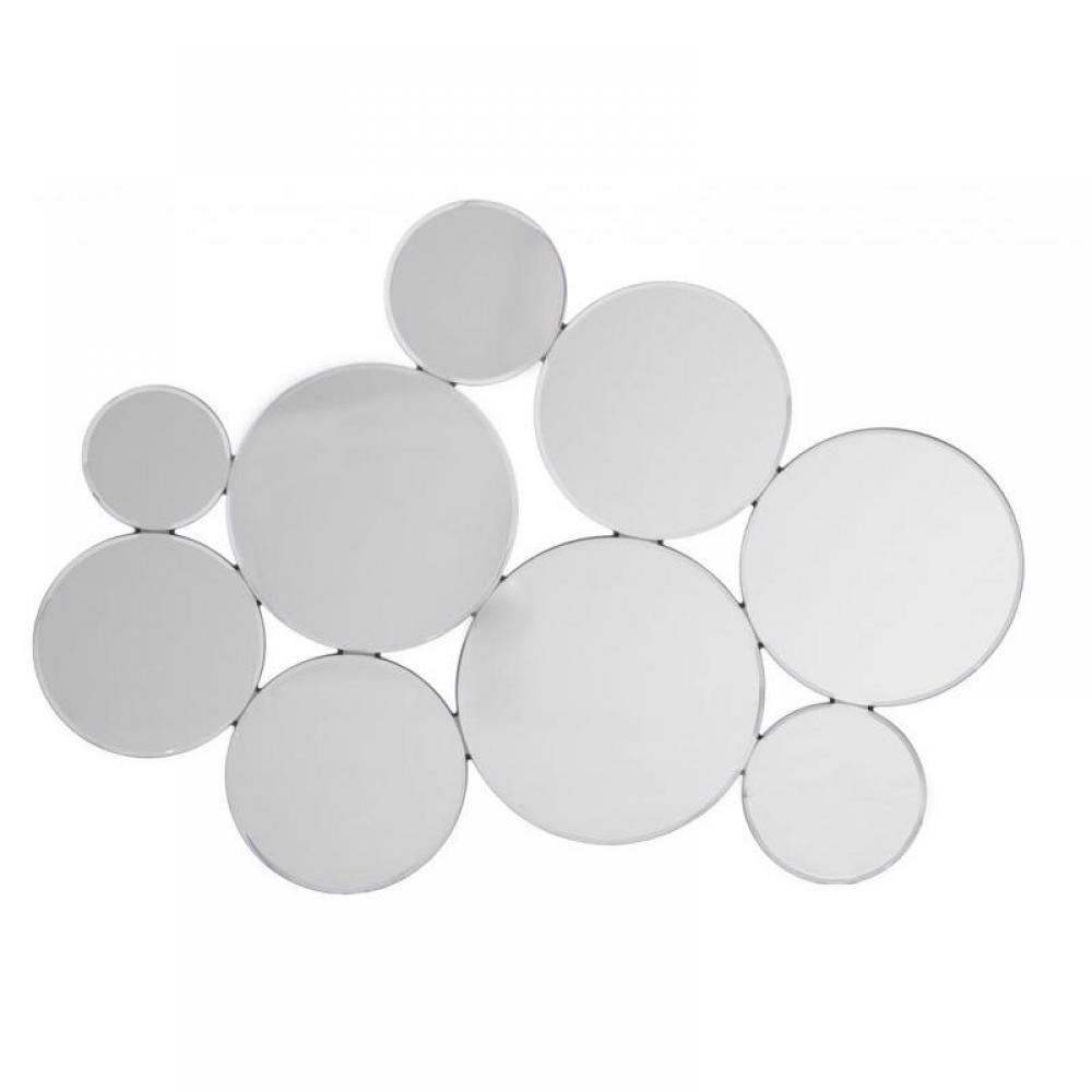 Miroirs meubles et rangements miroir rond bubble en for Miroir rond contemporain