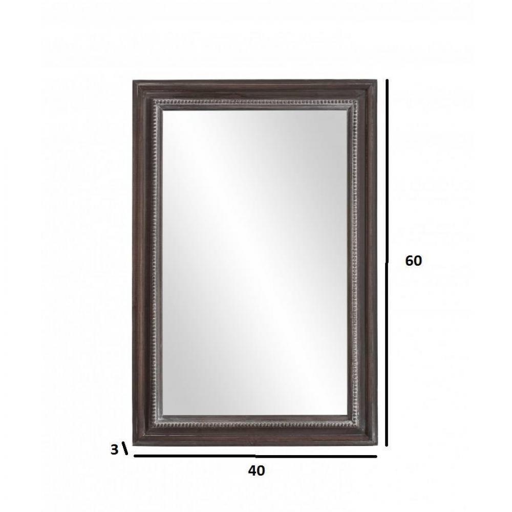 Miroirs meubles et rangements miroir rectangulaire for Miroir vertical