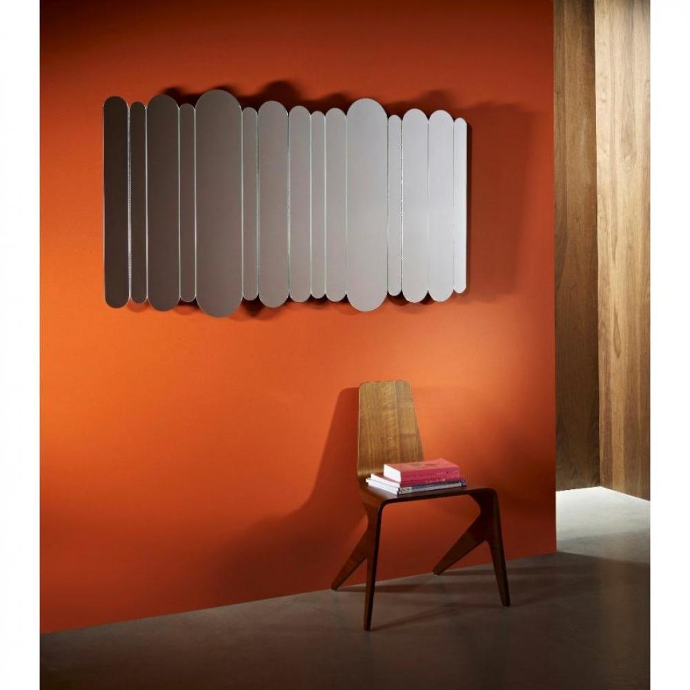 Miroirs meubles et rangements mohenjo miroir mural for Miroir mural design
