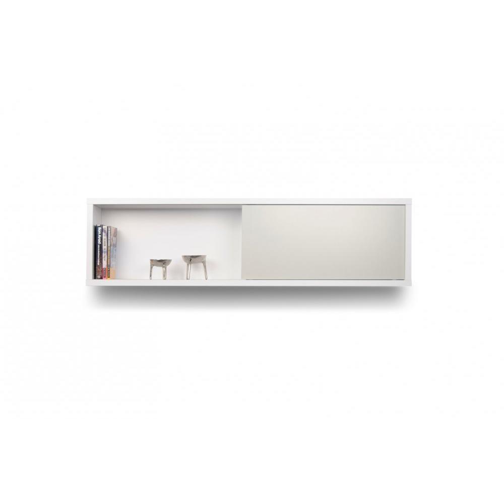 Biblioth ques tag res meubles et rangements nilo tag re horizontale mural - Fabrication etagere murale ...