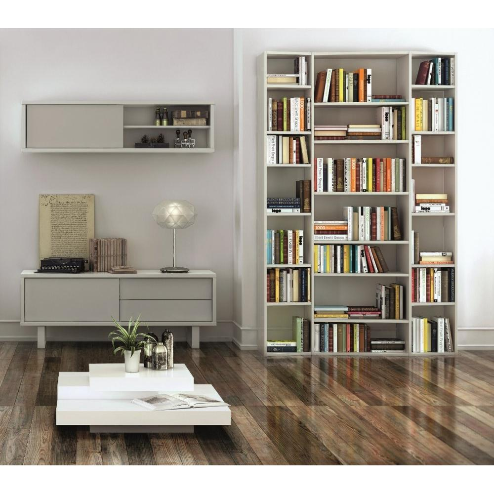 biblioth ques tag res meubles et rangements nilo tag re horizontale murale avec une porte. Black Bedroom Furniture Sets. Home Design Ideas
