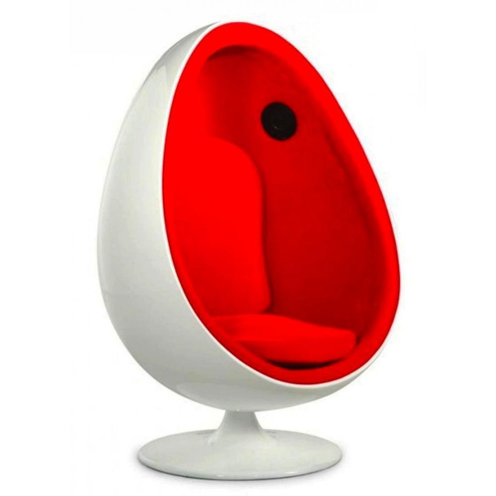 fauteuils oeuf meubles et rangements fauteuil pivotant oeuf enceinte pioneer egg chair coque. Black Bedroom Furniture Sets. Home Design Ideas