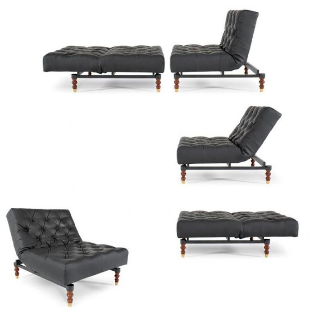 fauteuils convertibles convertibles innovation fauteuil lit design old school noir innovation. Black Bedroom Furniture Sets. Home Design Ideas