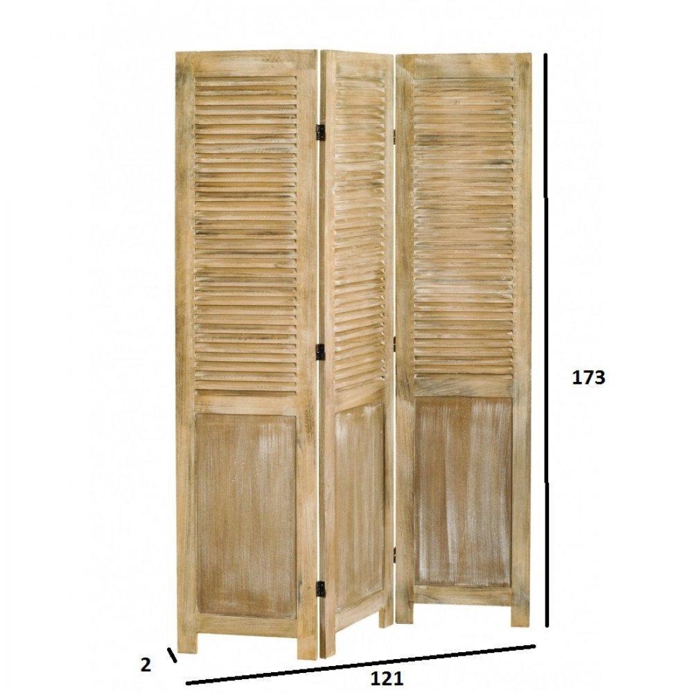 paravents meubles et rangements paravent 3 volets sarah. Black Bedroom Furniture Sets. Home Design Ideas