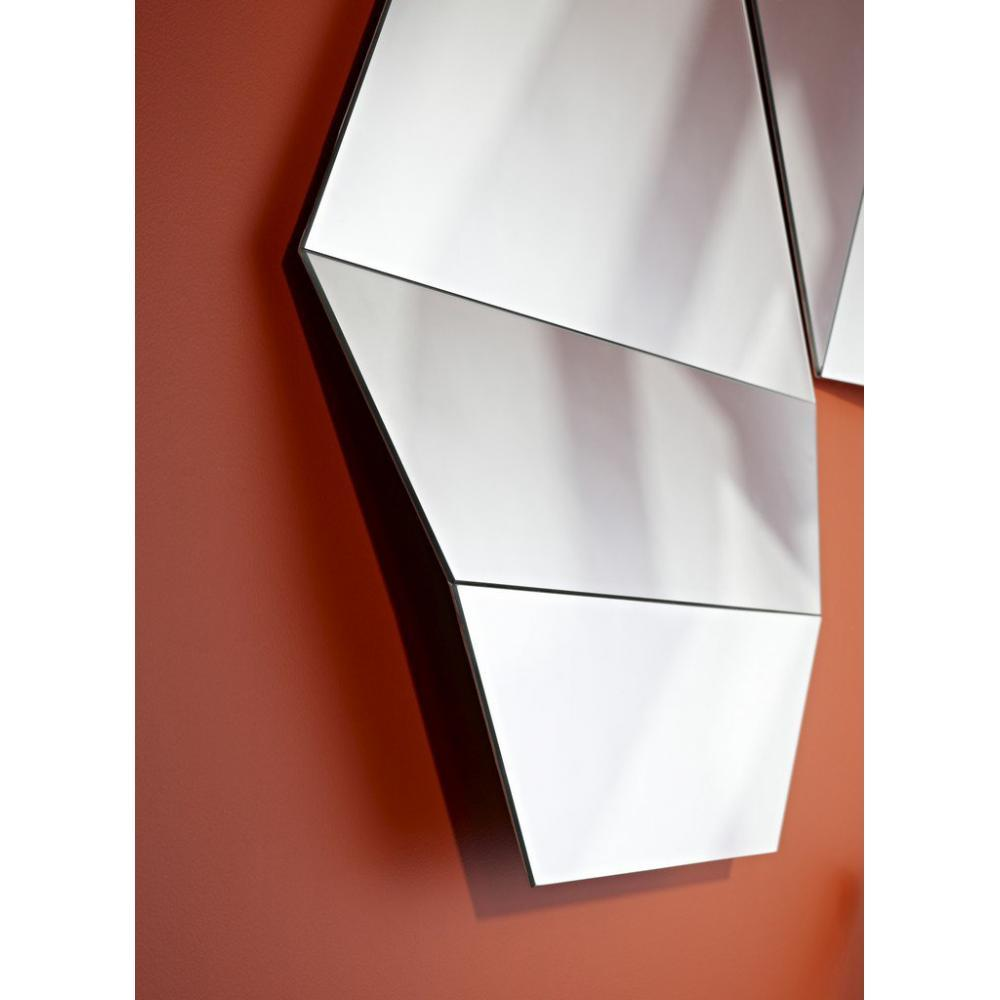 Miroirs meubles et rangements patti miroir mural design for Miroir design belgique