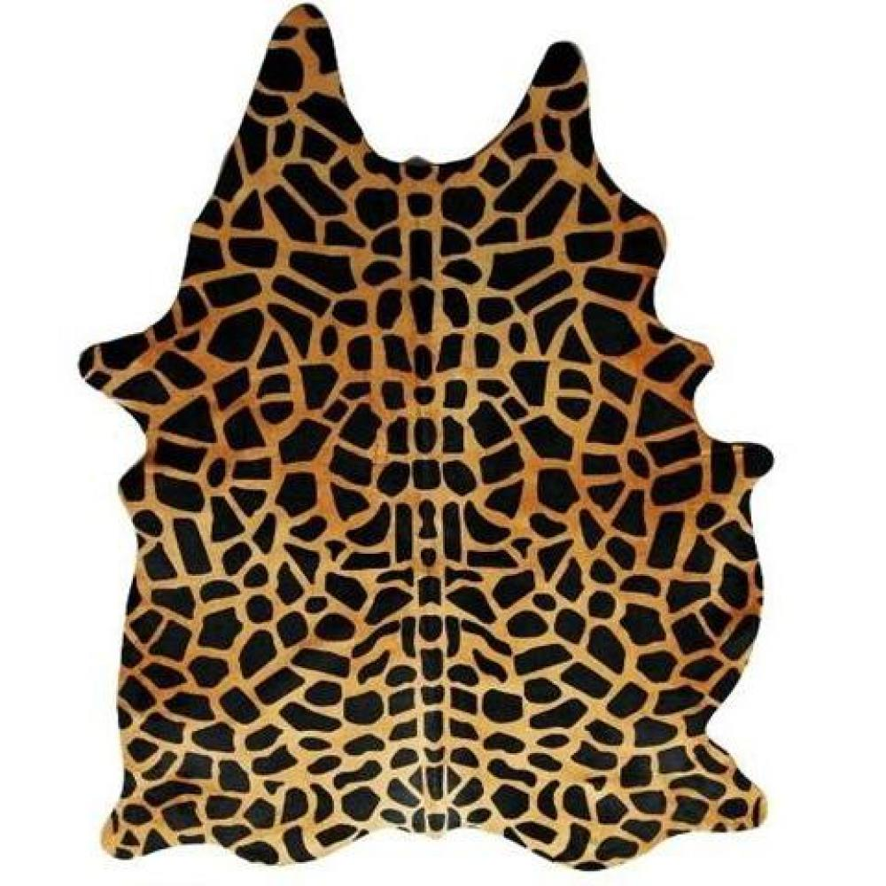 tapis de sol meubles et rangements tapis en peau de vache imp girafe inside75. Black Bedroom Furniture Sets. Home Design Ideas