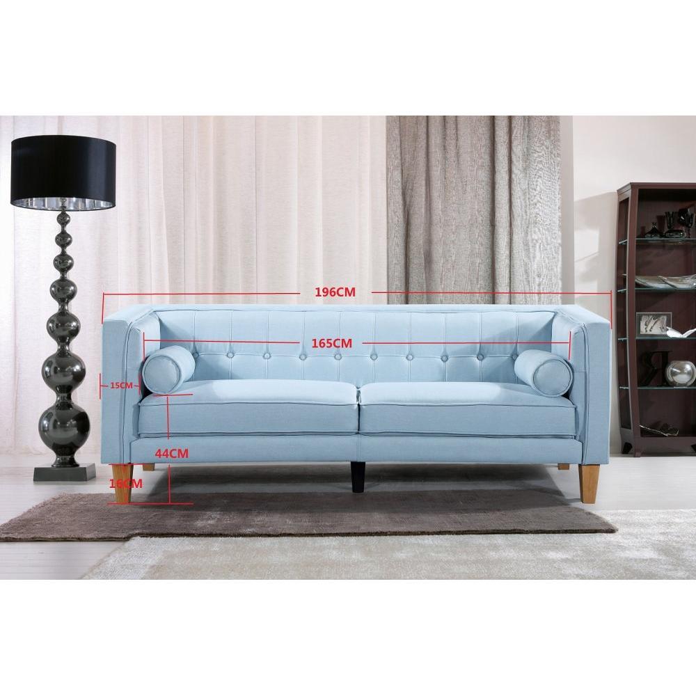Canapé fixe confortable & design au meilleur prix, Canapé 3 places ...