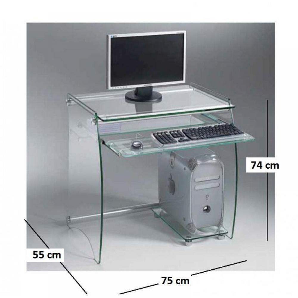Bureaux meubles et rangements pocket bureau pour for Bureau pour deux ordinateurs
