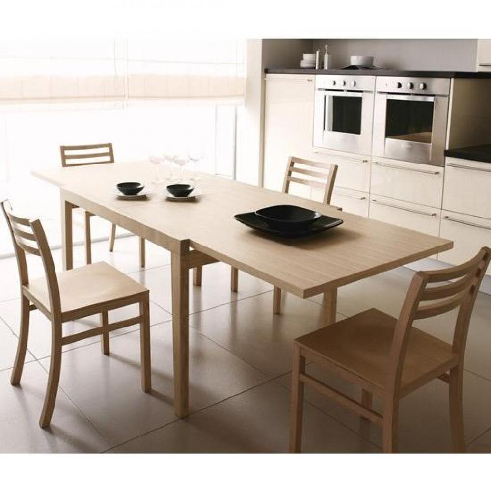 Table de repas design au meilleur prix table extensible for Table extensible rallonge integree