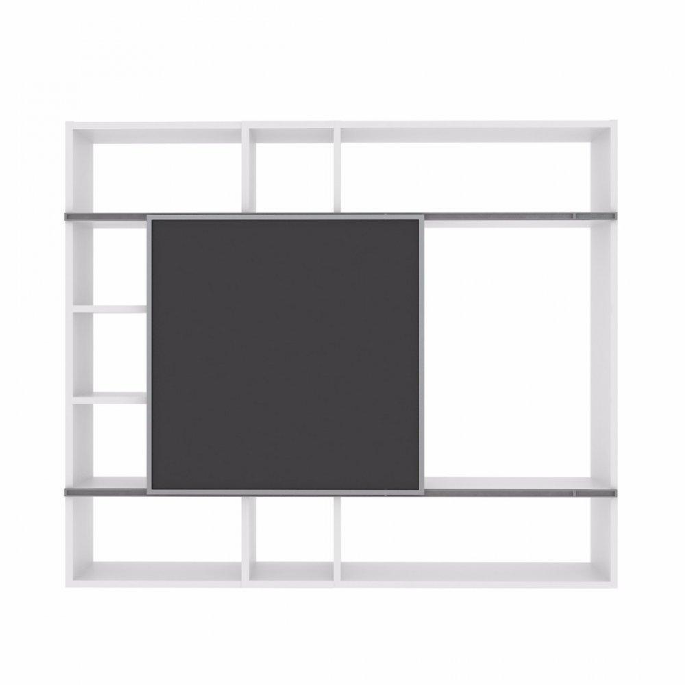 Meuble Tv Bibliothèque Blanc bibliothèques étagères, meubles et rangements, temahome