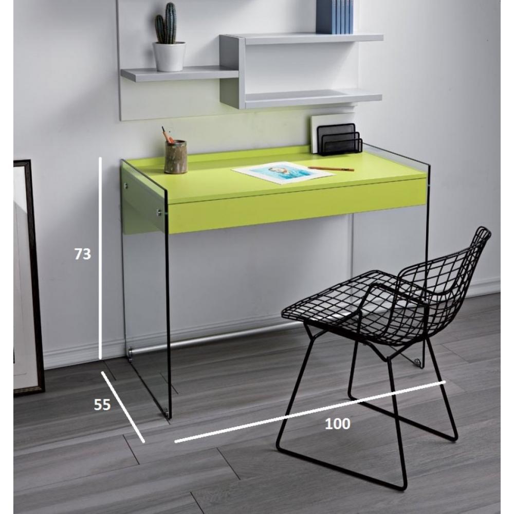 Bureaux meubles et rangements porte ordinateur tokio 1 for Meuble porte ordinateur