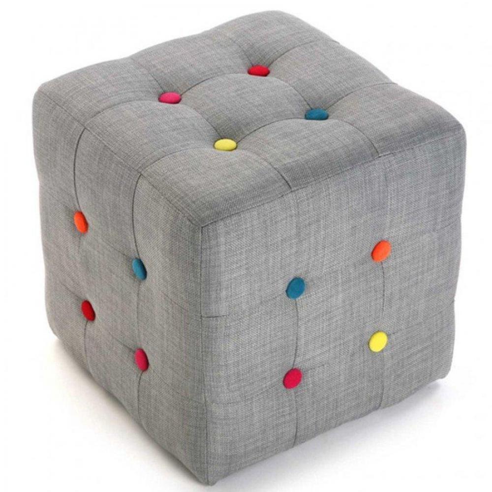 canap convertible au meilleur prix pouf carre buttons tissu gris capiton colore inside75. Black Bedroom Furniture Sets. Home Design Ideas