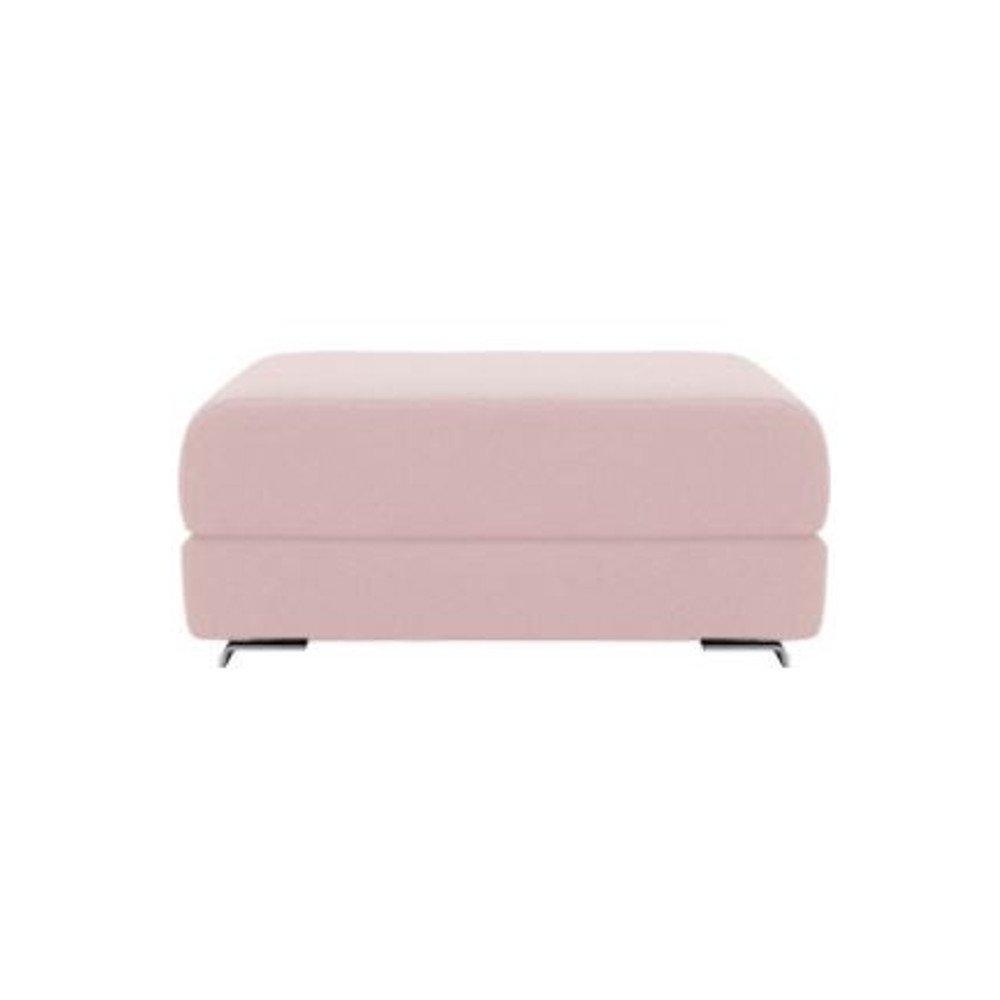 Pouf convertible LOUNGE en tissu laine rose pastel. Pouf convertible LOUNGE en tissu laine rose pastel