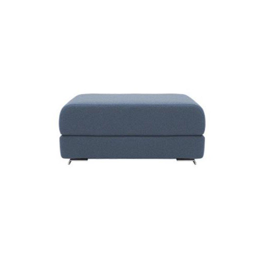 Pouf convertible LOUNGE en tissu bleu. Pouf convertible LOUNGE en tissu bleu