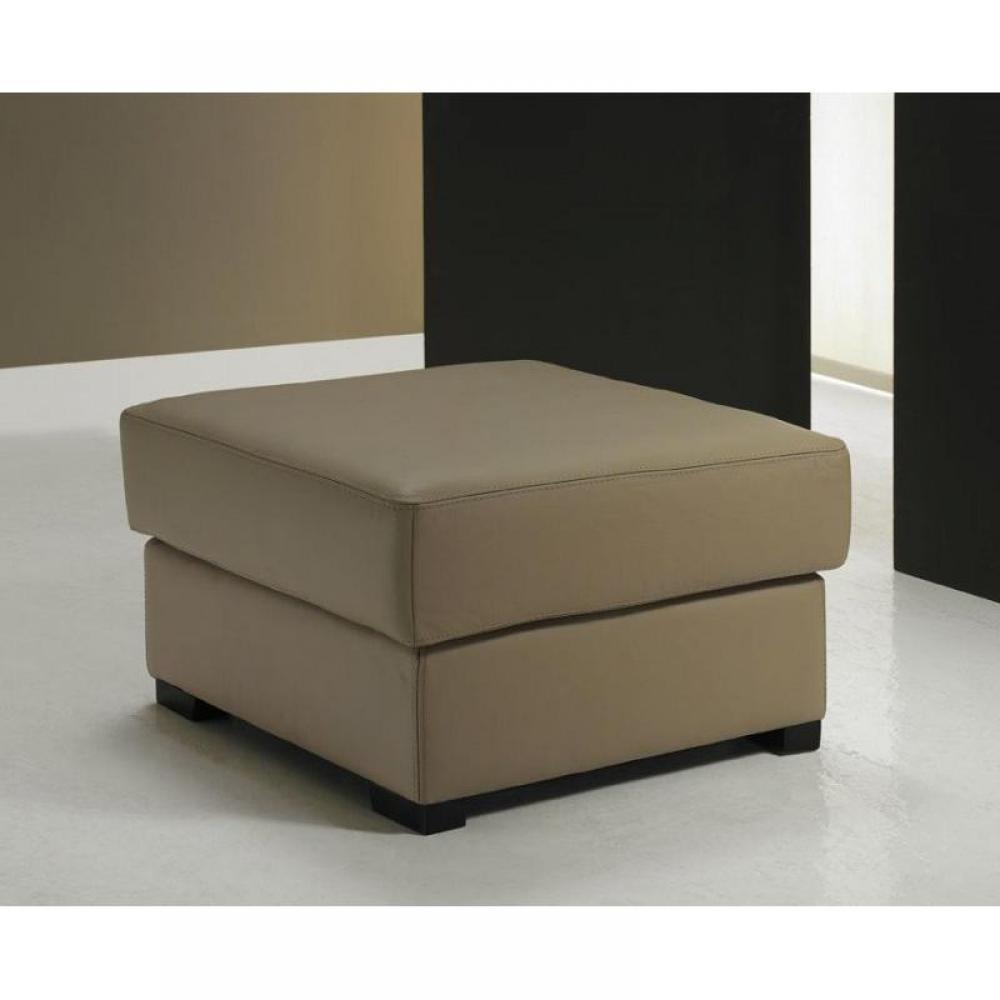 canap s convertibles ouverture rapido pouf dreamer sidney sun en cuir taupe clair inside75. Black Bedroom Furniture Sets. Home Design Ideas