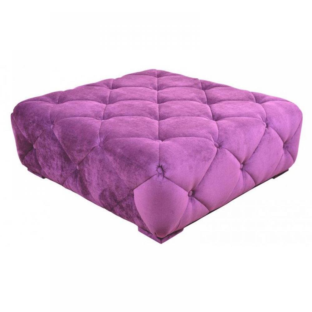 canap s convertibles ouverture rapido pouf squarefield velour violet inside75. Black Bedroom Furniture Sets. Home Design Ideas