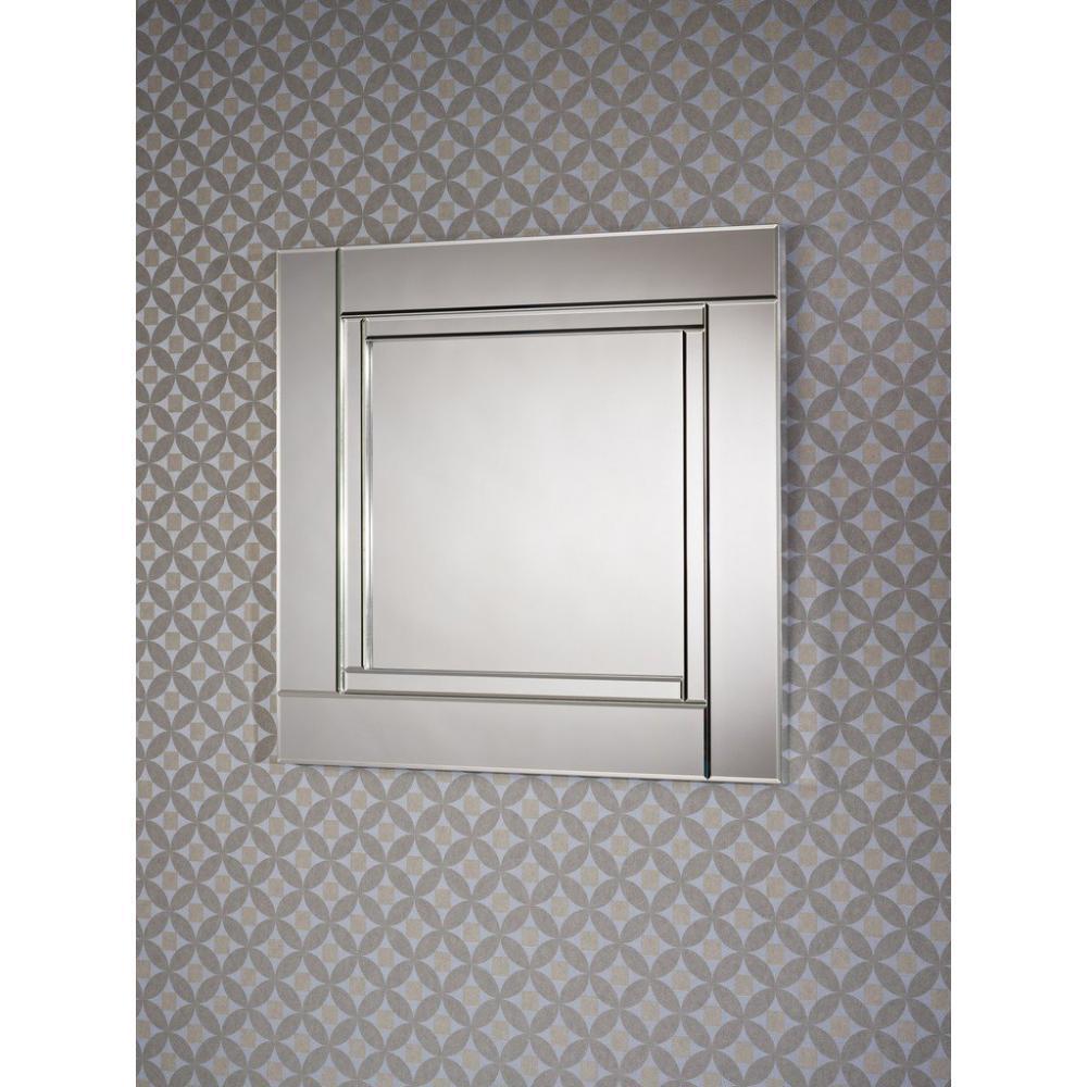 Miroirs meubles et rangements quadran miroir mural design en verre couleur - Miroir design belgique ...