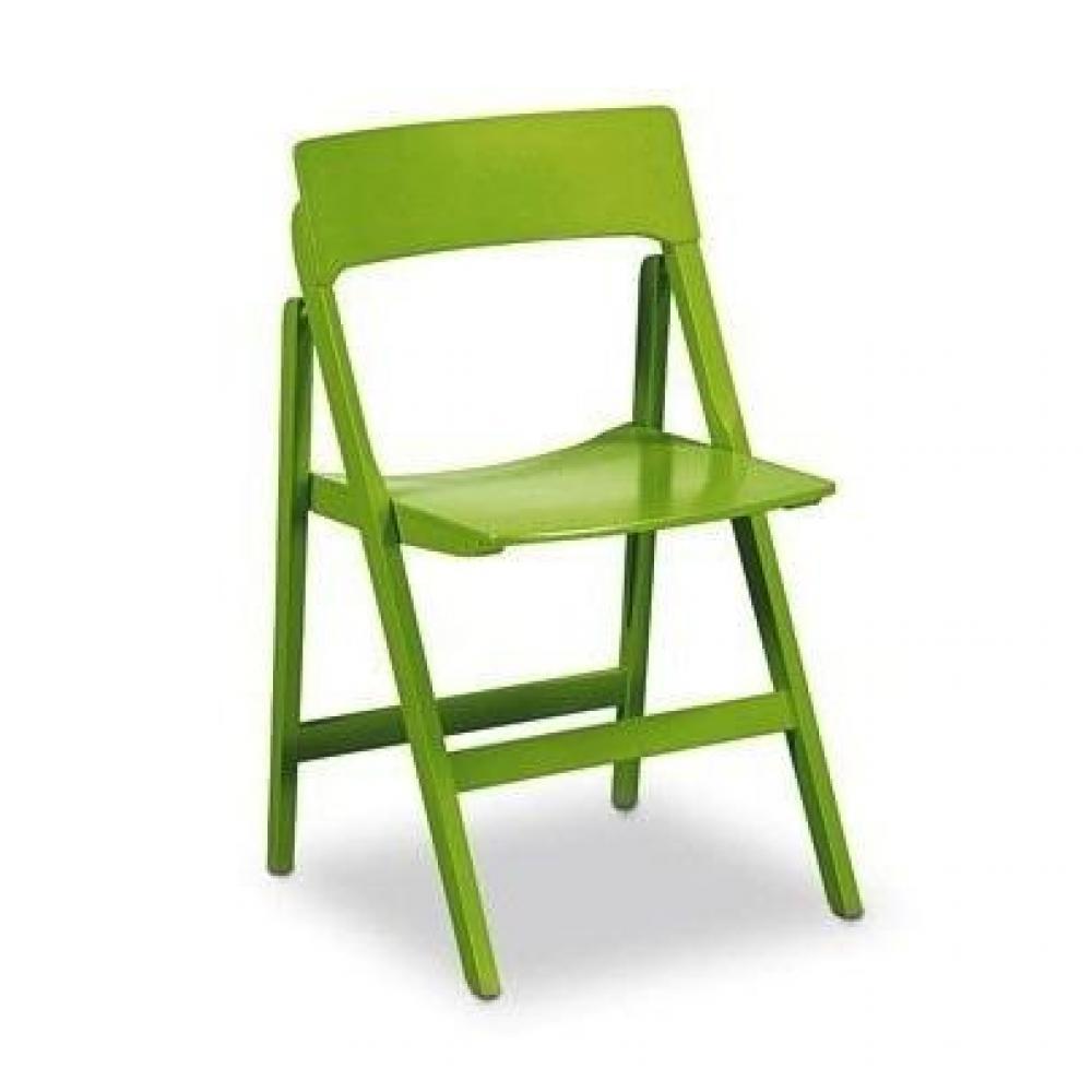 chaise design ergonomique et stylis e au meilleur prix chaise pliante relax couleur anis inside75. Black Bedroom Furniture Sets. Home Design Ideas