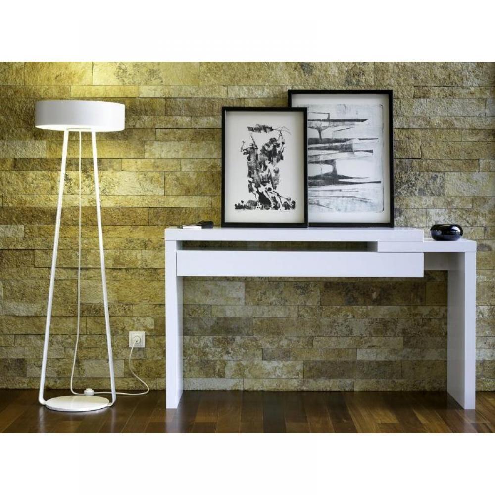 consoles meubles et rangements temahome reef meuble console design laqu e blanc inside75. Black Bedroom Furniture Sets. Home Design Ideas