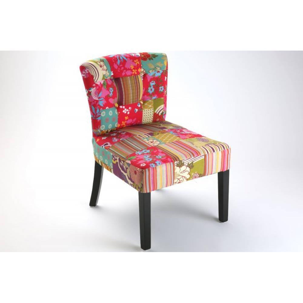 fauteuils et poufs canap s et convertibles rio fauteuil patchwork inside75. Black Bedroom Furniture Sets. Home Design Ideas