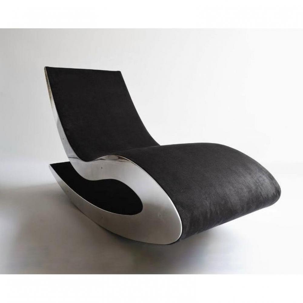 Fauteuils design canap s et convertibles fauteuil lounge chair rock n lou - Fauteuil cuir design italien ...