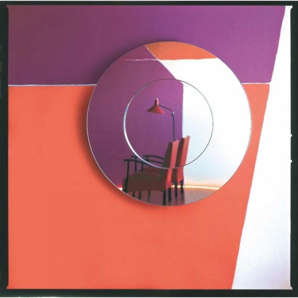Miroirs meubles et rangements roll miroir mural design for Petit meuble rond