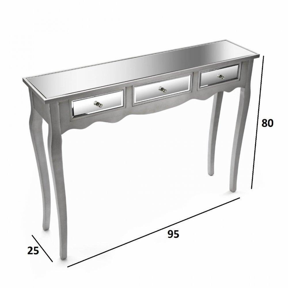 console design ultra tendance au meilleur prix roma console design en bois 3 tiroirs inside75. Black Bedroom Furniture Sets. Home Design Ideas