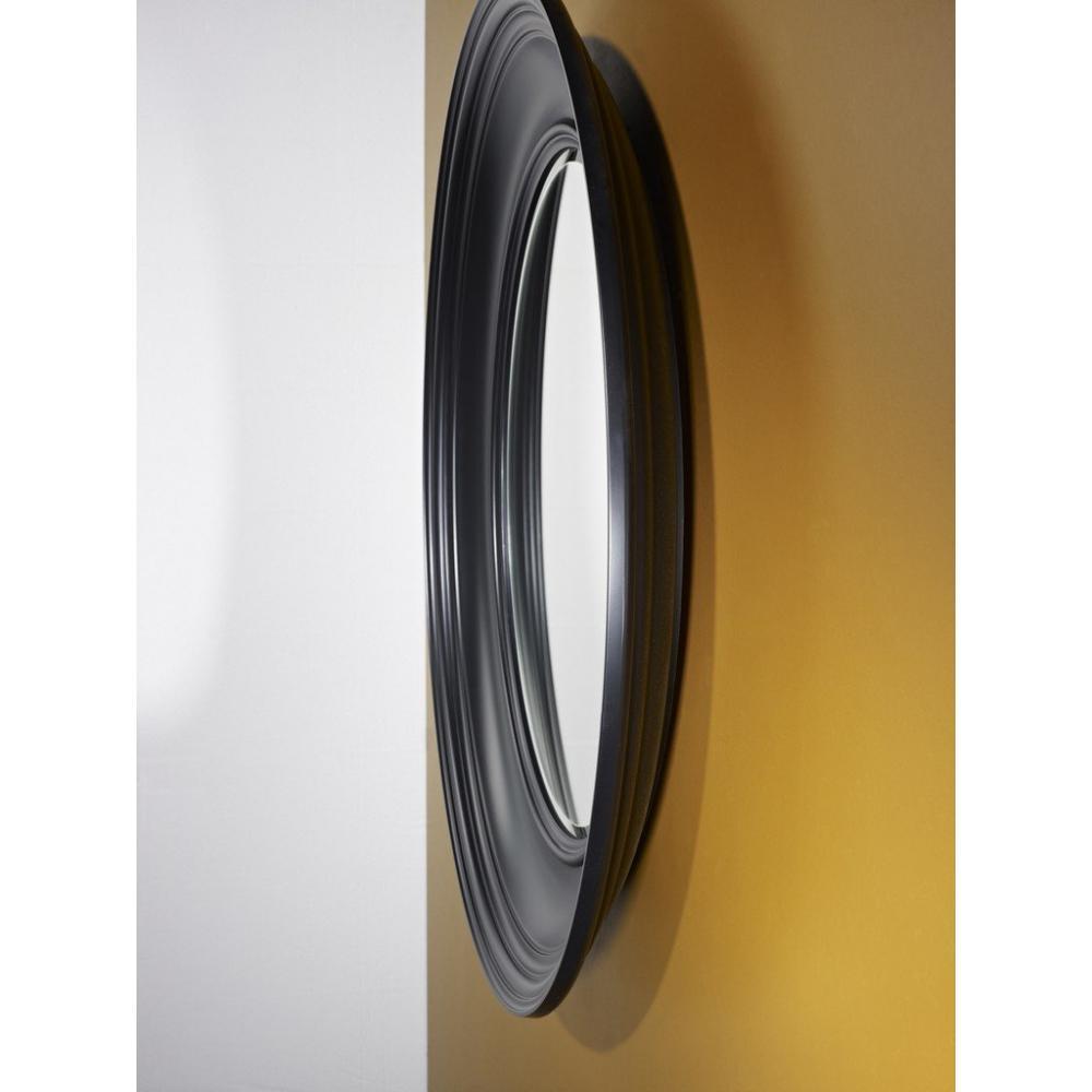 Miroirs meubles et rangements rosie miroir mural design for Miroir design noir