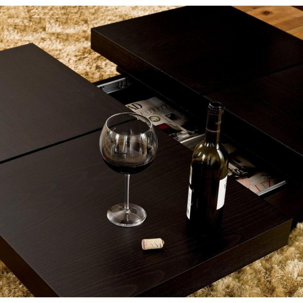 table basse carr e ronde ou rectangulaire au meilleur prix temahome kyoto table basse. Black Bedroom Furniture Sets. Home Design Ideas