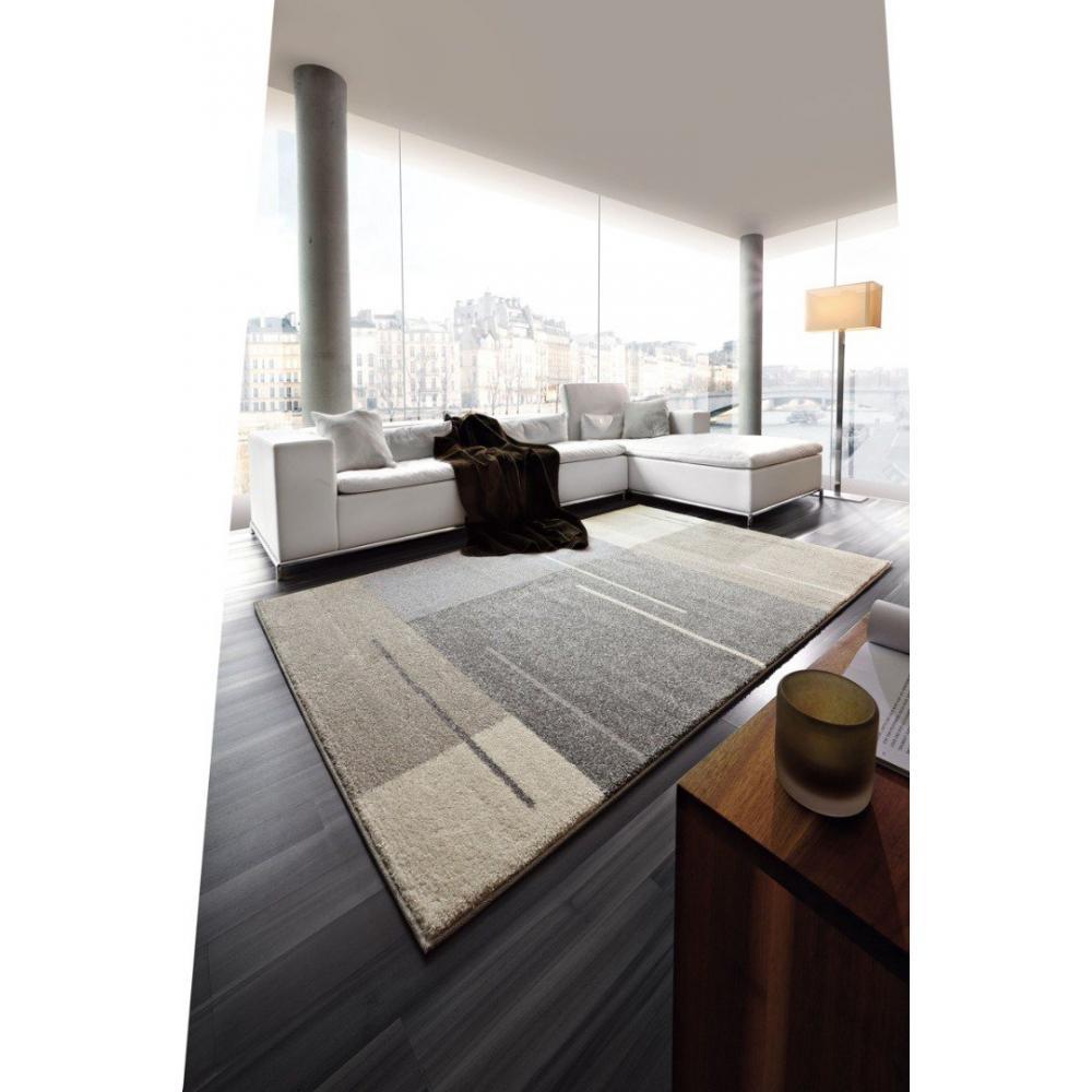 tapis de sol meubles et rangements samoa design tapis patchwork gris taupe 140x200 cm inside75. Black Bedroom Furniture Sets. Home Design Ideas