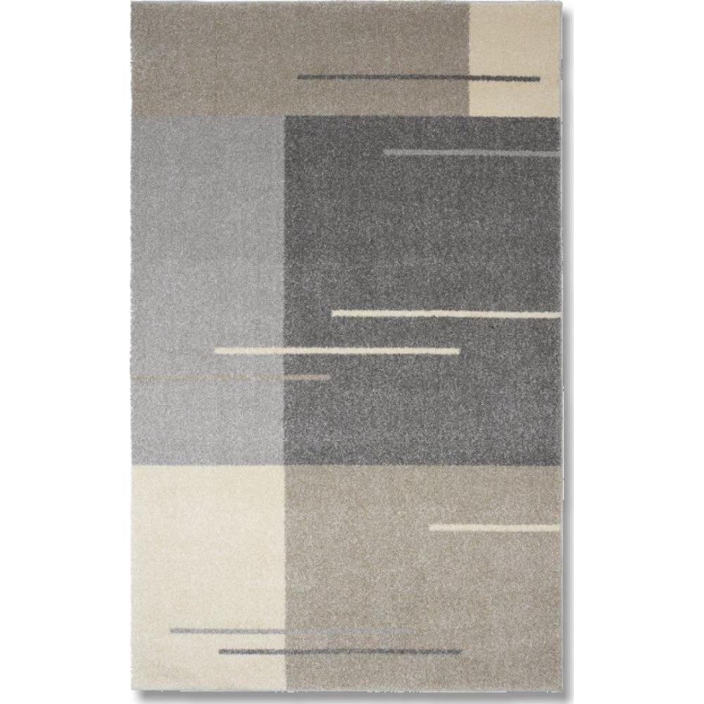tapis poils courts meubles et rangements samoa design tapis patchwork gris taupe 200x290 cm. Black Bedroom Furniture Sets. Home Design Ideas