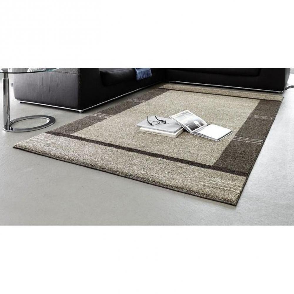 Tapis de sol meubles et rangements samoa design tapis taupe patchwork 200x290 cm inside75 for Tapis sol design