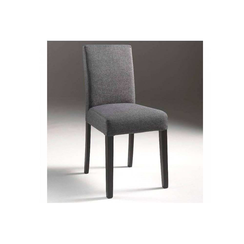 Chaise design ergonomique et stylis e au meilleur prix for Chaise grise design