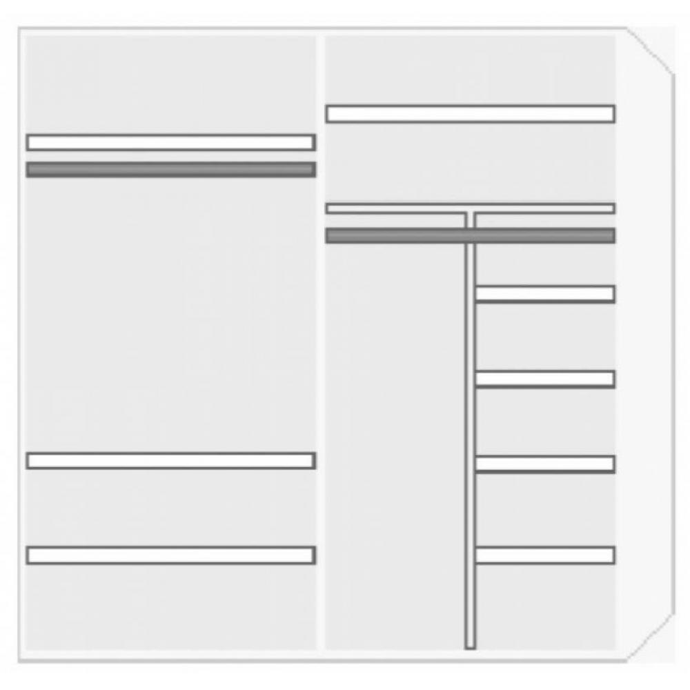 armoire lit escamotables au meilleur prix 2 penderies et. Black Bedroom Furniture Sets. Home Design Ideas
